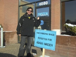 Behind-the-Scenes: Adam Green's Frozen (click for larger image)