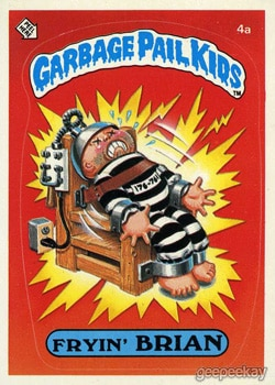 fryin brian - 20 Ghastly Garbage Pail Kids - The 80s Baby's Precursor to Horror