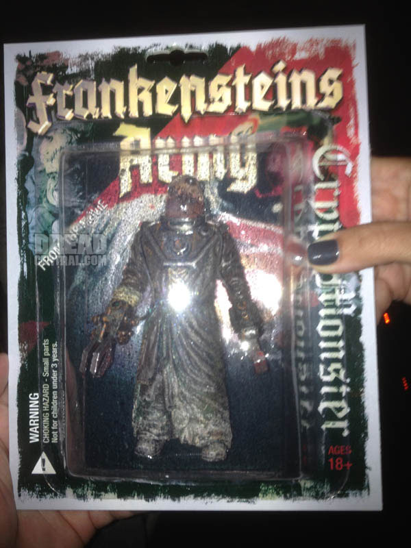 San Diego Comic-Con 2012: Exclusive Look at One of a Kind Frankensetin's Army Figure