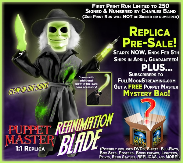 Blade ReAnimation Puppet Master