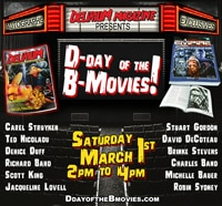 Delirium Magazine Presents D-Day of the B-Movies