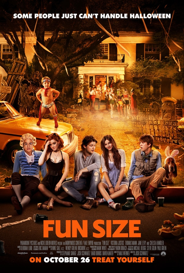 New Clip and First TV Spot for Fun Size Promise an Epic Night