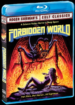 Forbidden World on Blu-ray and DVD (click for larger image)