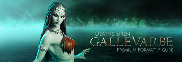 Death's Siren Gallevarbe Joins Sideshow's Court of the Dead