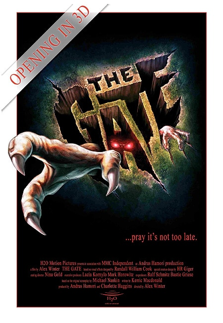 Early Teaser One-Sheet: Alex Winter's  Remake - The Gate 3D