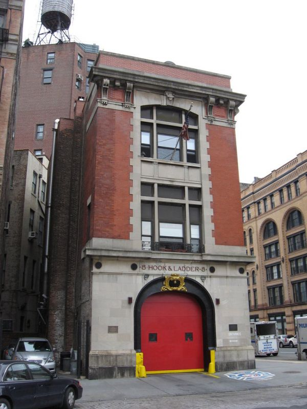Ghostbusters Firehouse Closing Doors