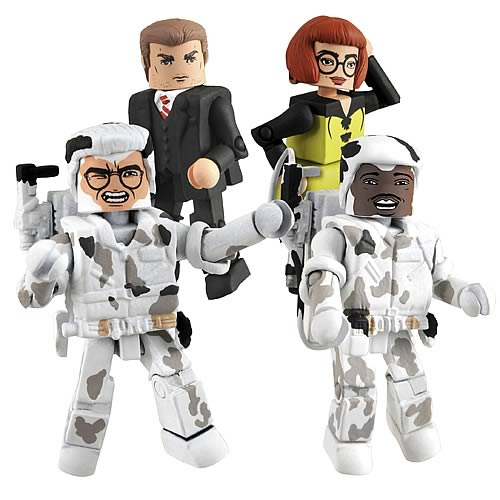 Ghostbusters Minimates Series 3 Coming in April