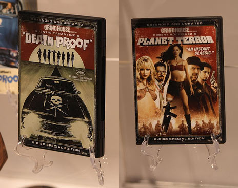 Grindhouse DVD's