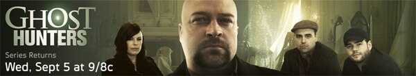 Ghost Hunters Returning to Syfy on September 5th; Synopses of the First Four Epsiodes