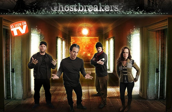 Who Ya Gonna Call for Paranormal Laughs? Ghostbreakers!