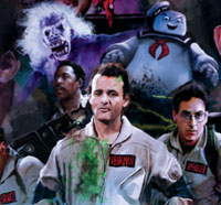 Get Slimed by a New Ghostbusters Print from Strange Kids Club