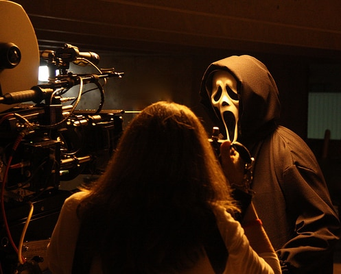 Wes Craven Provides Our First Look at Ghostface!