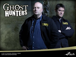 Ghost Hunters on Sci-fi (click for larger image)