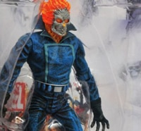 Ghost Rider Rides Again in New Packaging from Diamond Select Toys!