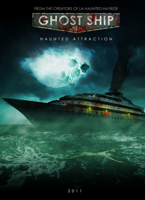 A Ghost Ship Launches for Halloween in Southern California