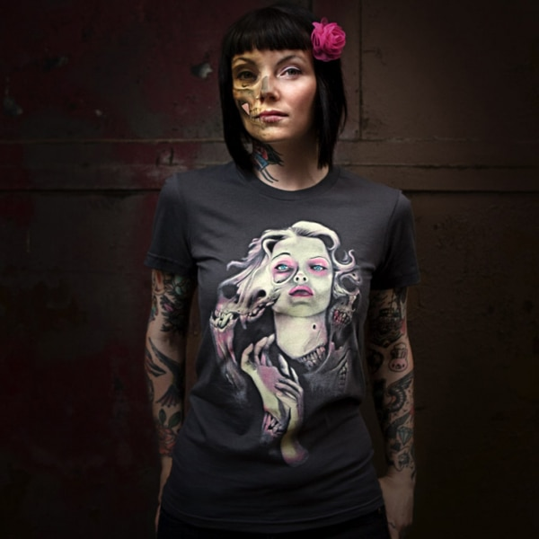 New Ghost T-Shirt Available from Threadless Tees