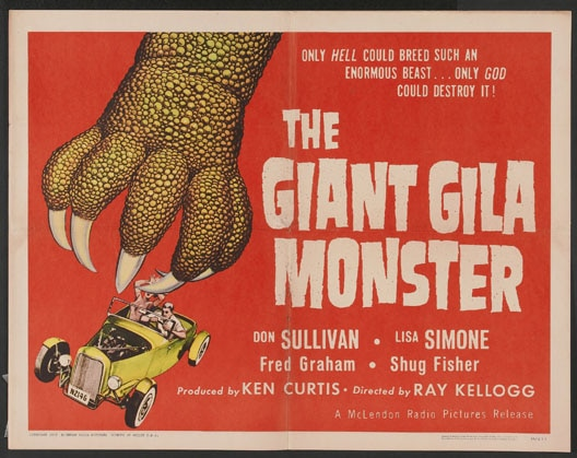 Remake of The Giant Gila Monster Begins Filming Today