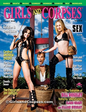 Girls and Corpses Magazine Winter Issue
