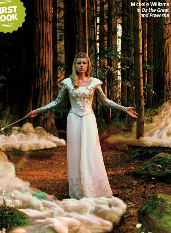 Sam Raimi's Oz: The Great and Powerful - First Look at Michelle Williams as Glinda the Good Witch
