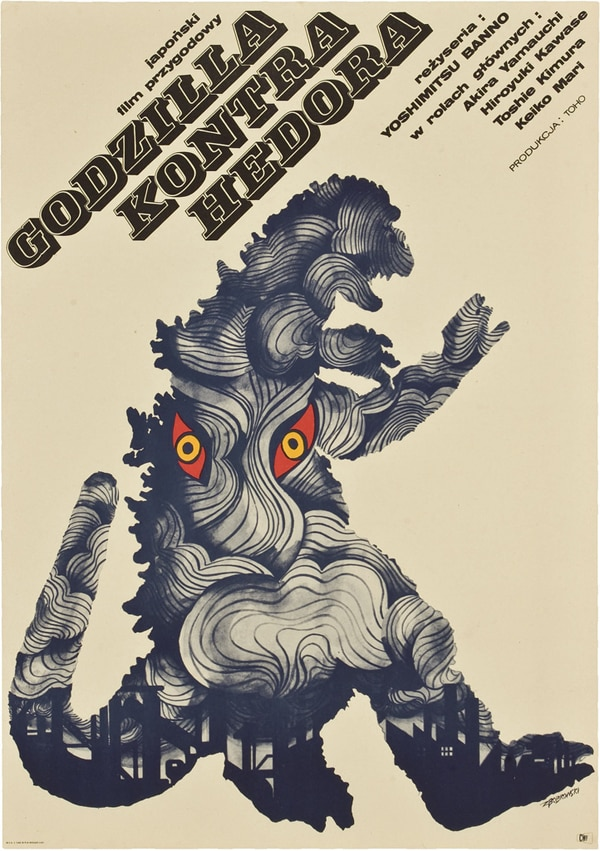 Vintage Polish/Czech Giant Monster Movie Posters Unearthed