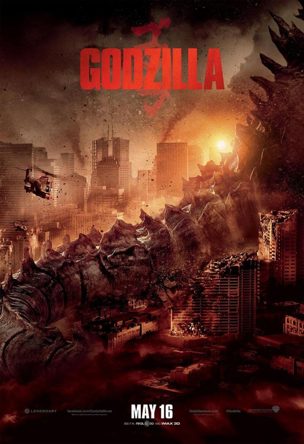 godzilla poster new - New Godzilla Poster Demands to Know