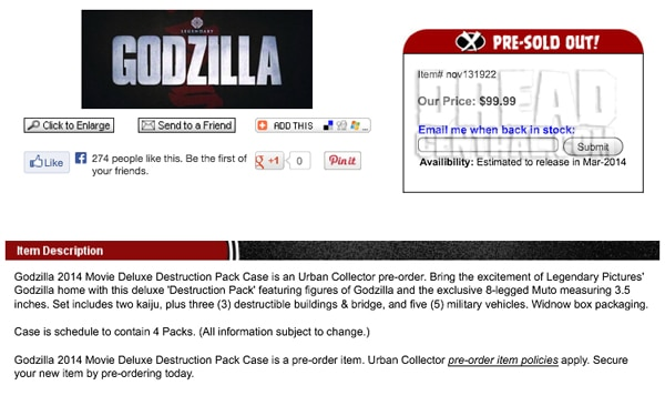 godzilla toy - No More Expensive Importing! Diamond Bringing Godzilla Toys and More to the States