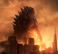 See Godzilla Revealed in this New Poster!