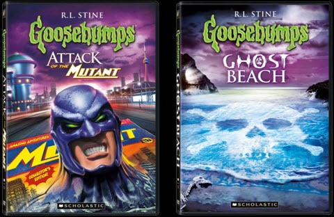 Get Goosebumps This Fall - Two New Adventures Arriving on DVD September 13th