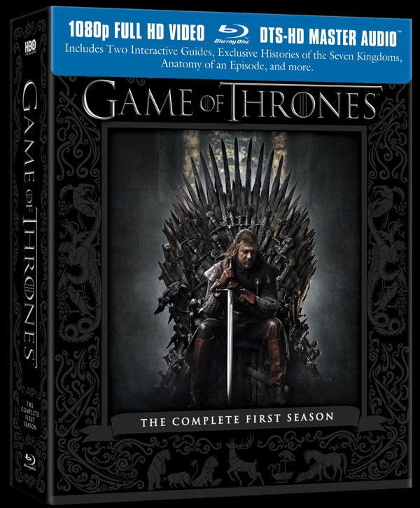 Game of Thrones Blu-ray/DVD Release Date, Artwork, and Specs