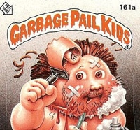 gpk ss - 20 Ghastly Garbage Pail Kids - The 80s Baby's Precursor to Horror