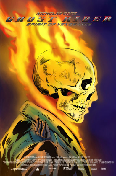 Time to Vote for Your Favorite Ghost Rider: Spirit of Vengeance One-Sheet