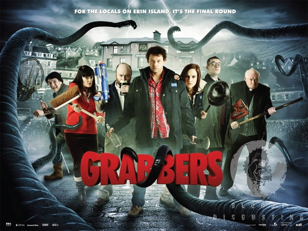 Grabbers Drink Their Way to DVD