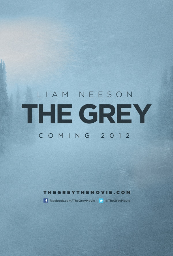 Gloomy Teaser One-Sheet Escapes for Joe Carnahan's The Grey