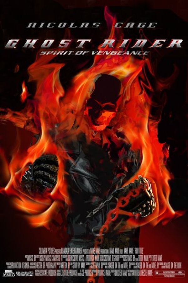 Winner of the Ghost Rider: Spirit of Vengeance Fan Made One-Sheet Contest Announced