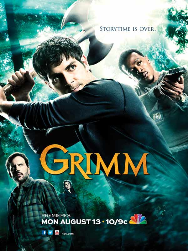 Your First Look at Grimm's Season 2 Key Art and Special Comic-Con Poster