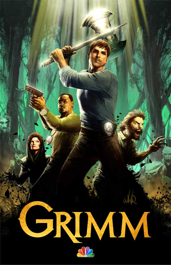 grimartcc - Your First Look at Grimm's Season 2 Key Art and Special Comic-Con Poster