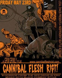 Gris Grimly's Cannibal Flesh Riot!