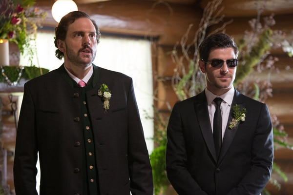 It's Monrosalee's Big Day in These Images and Preview of Grimm's Season 2 Finale - Blond Ambition