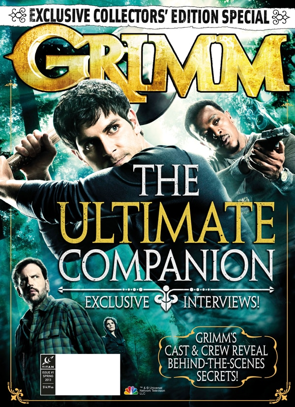 Titan Publishing Two Collector's Edition Magazines for NBC's Grimm