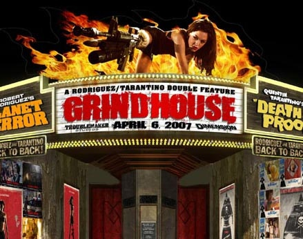 A Grindhouse in your theater!