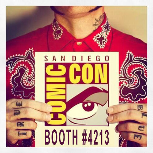 San Diego Comic-Con 2013: Gris Grimly Debuts Illustrated Frankenstein Book, T-Shirt, and More!