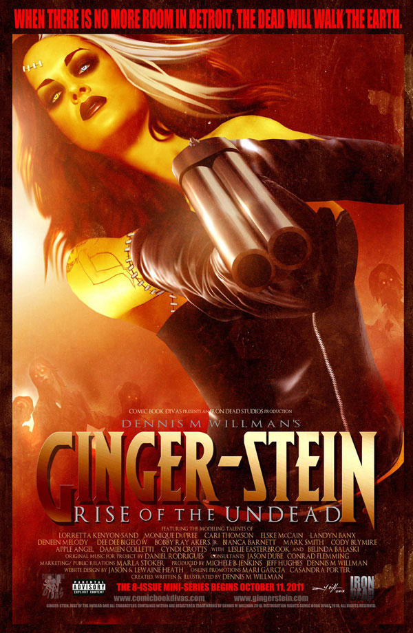 Ginger-Stein: Rise of the Undead, the First Mini-Series in the Ginger-Stein Franchise, Begins October 11th