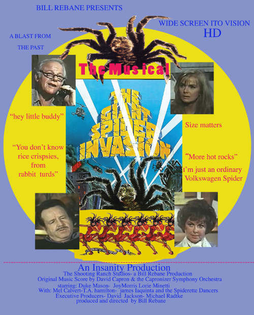 gsi - The Giant Spider Invasion to be Remade as a Musical Comedy