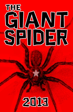 The Giant Spider Crawls Our Way for Valentine's Day