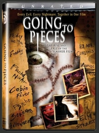 Going to Pieces: The Rise and Fall of the Slasher Film (click for larger image)