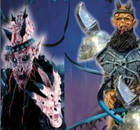 Oderus Urungus and Balsac Featured in New GWAR The Jaws of Death Throbblehead Set!