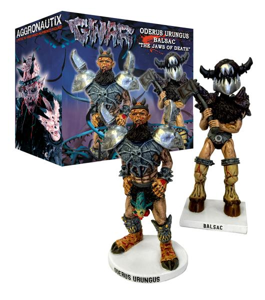 GWAR The Jaws of Death Throbblehead Set
