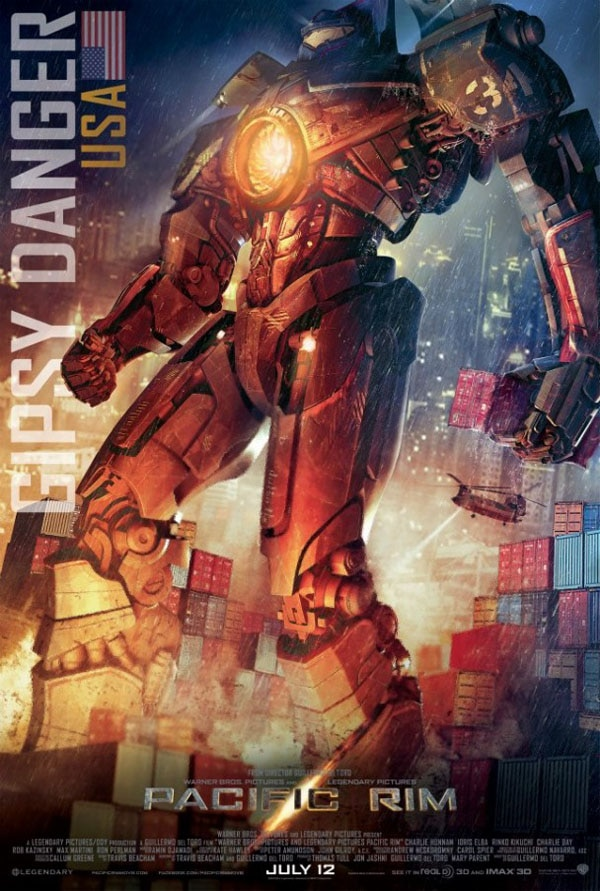 Pacific Rim - Gypsy Danger Stands Tall for the USA