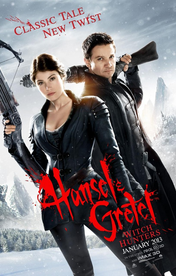 h&gposter - A New Featurette for Hansel & Gretel: Witch Hunters