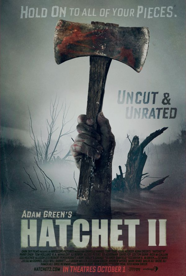 New Hatchet II One-Sheet Makes a Splash!